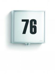 steinel sensor au enleuchte l 676 led alu silber 003869 fh. Black Bedroom Furniture Sets. Home Design Ideas