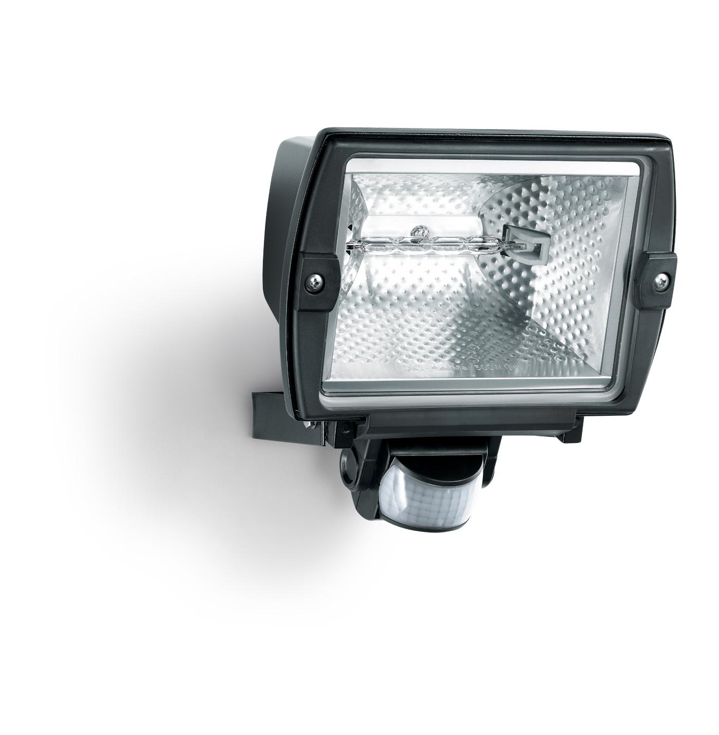 Steinel sensor halogenstrahler hs 5140 schwarz 575212 for Hausfronten modern