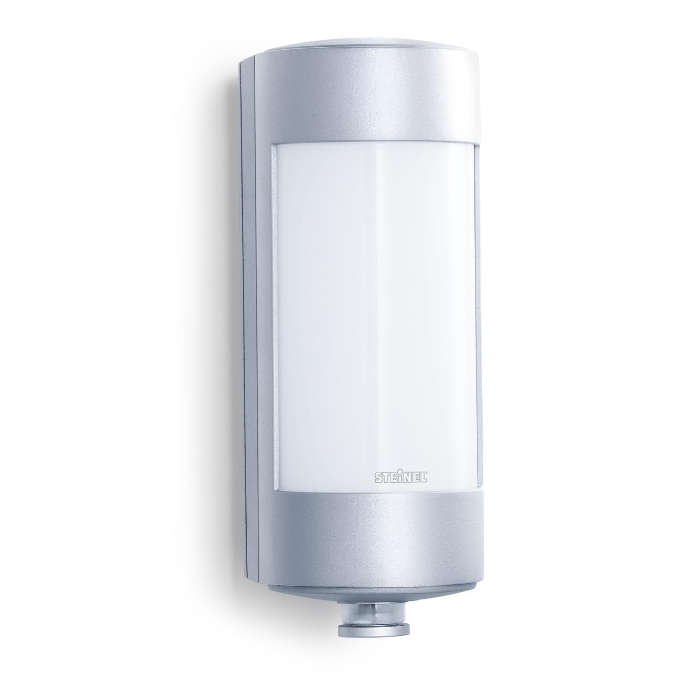 Steinel sensorleuchte l 271 s aluminium 647919 for Hausfronten modern