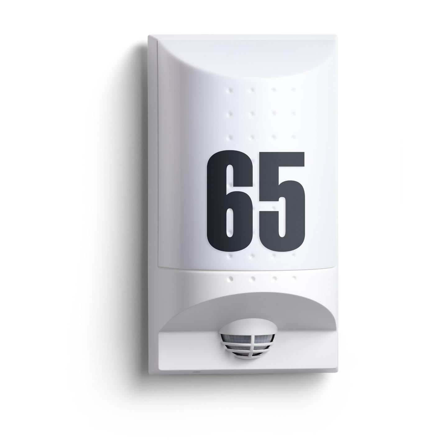 steinel sensorleuchte l 650 led wei 004033 fh. Black Bedroom Furniture Sets. Home Design Ideas