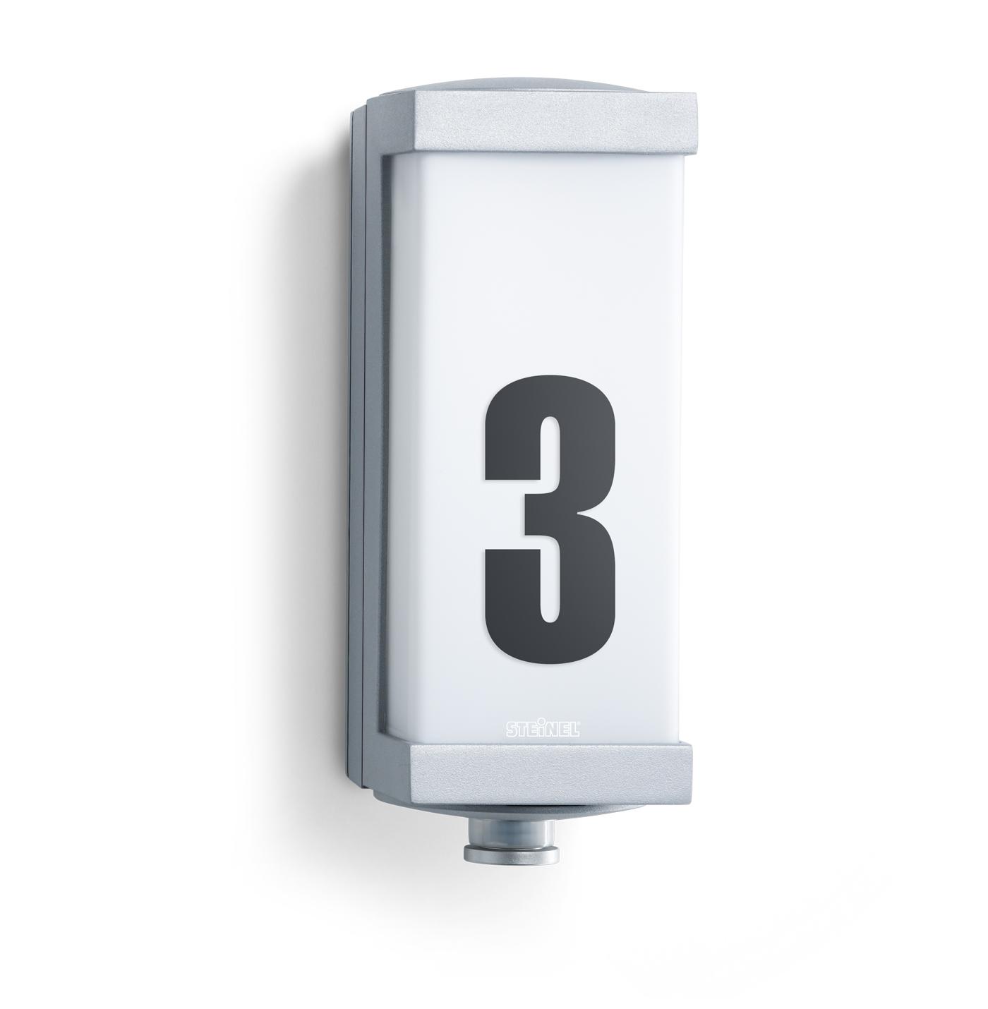 steinel sensor au enleuchte l 666 led 003777 fh. Black Bedroom Furniture Sets. Home Design Ideas