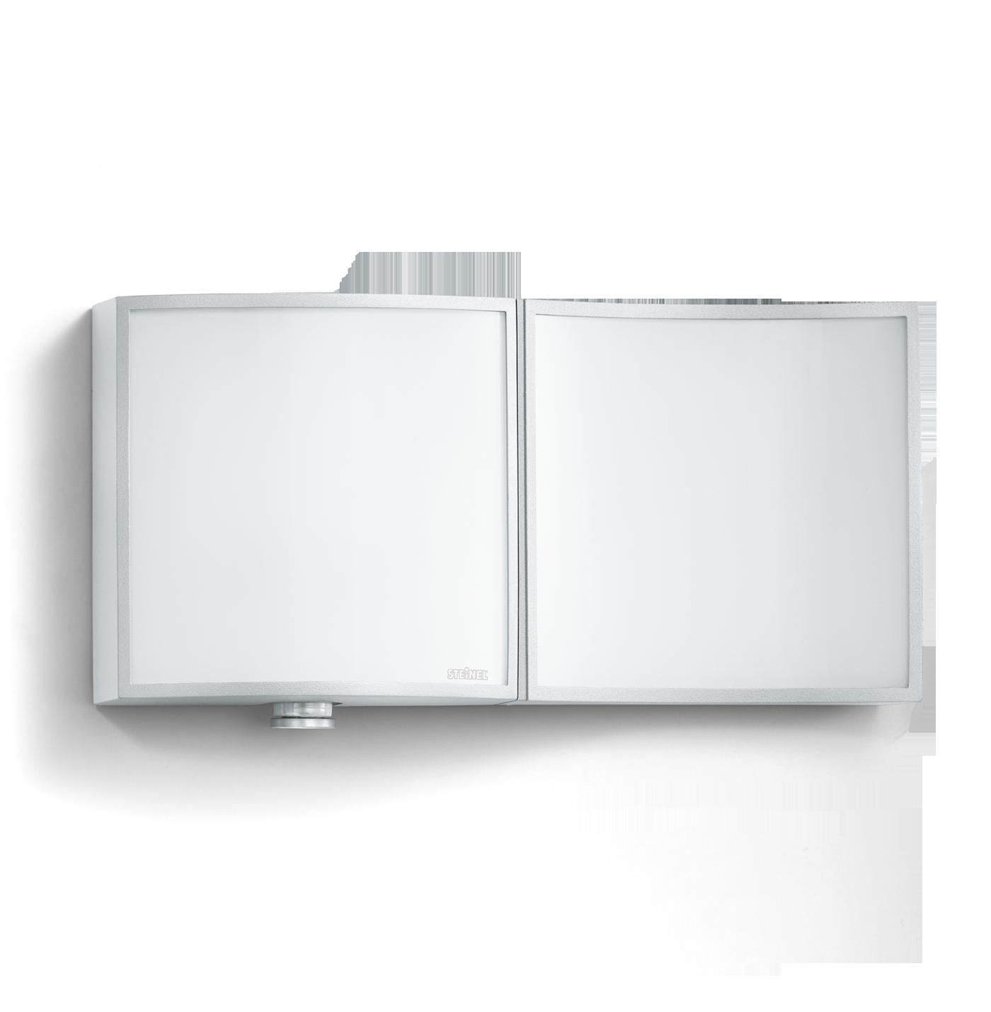 steinel sensor au enleuchte l 675 led alu silber 003852 fh. Black Bedroom Furniture Sets. Home Design Ideas