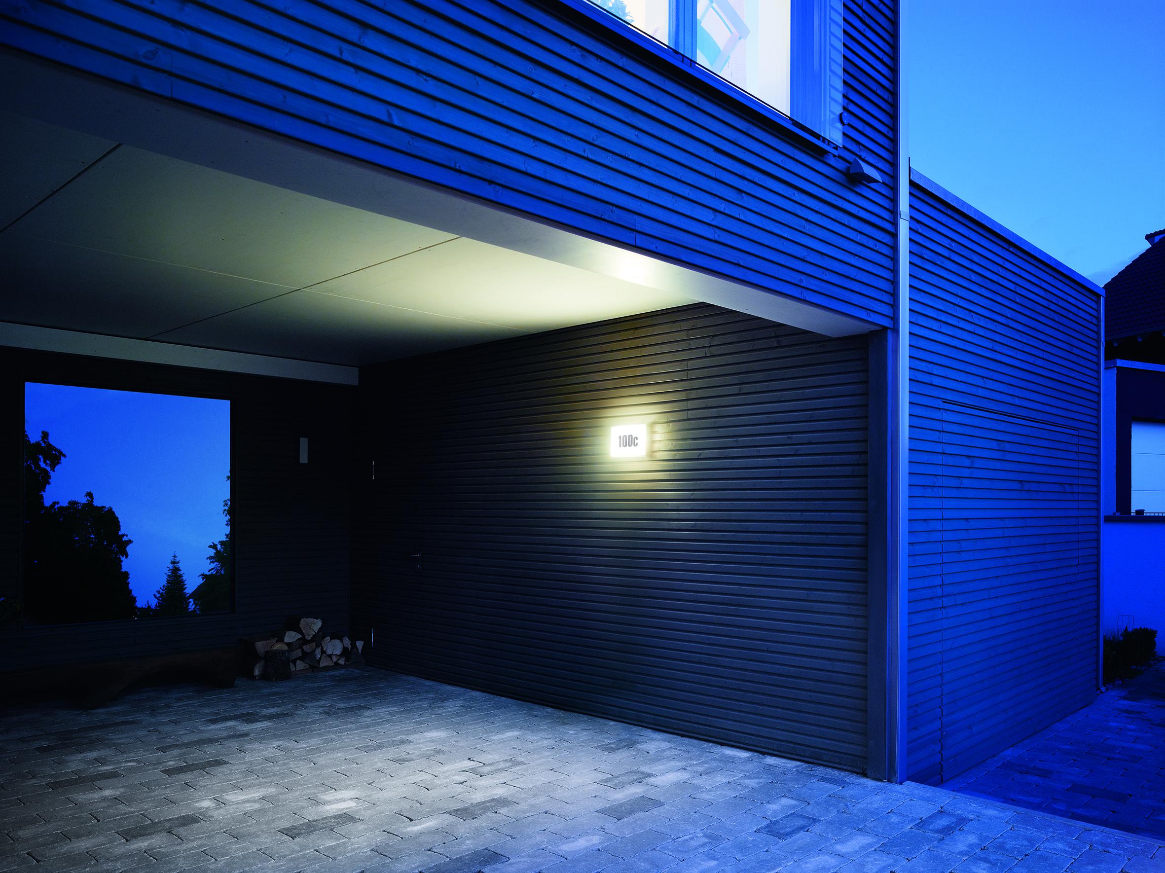 steinel led aussenleuchte ln 1 649715. Black Bedroom Furniture Sets. Home Design Ideas