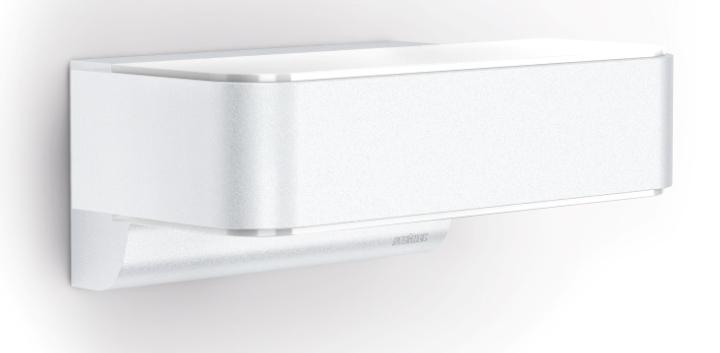 Steinel sensor au enleuchte l 810 led ihf wei 012656 for Hausfronten modern