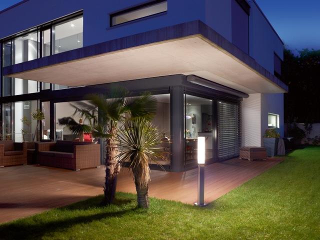 steinel sensorleuchte gl 60 led edelstahl 7881. Black Bedroom Furniture Sets. Home Design Ideas