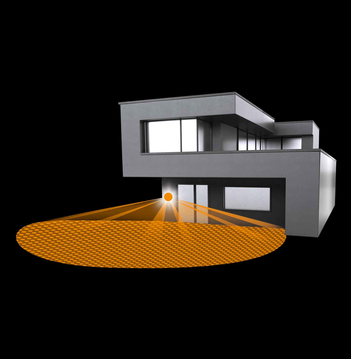 steinel sensor au enleuchte l 680 led edelstahl 671914 fh. Black Bedroom Furniture Sets. Home Design Ideas